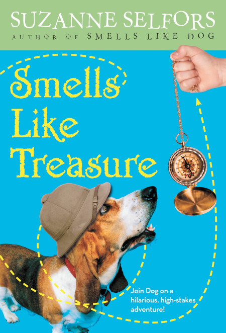 "Cover image of ""Smells Like Treasure,"" a middle grade novel by Suzanne Selfors"