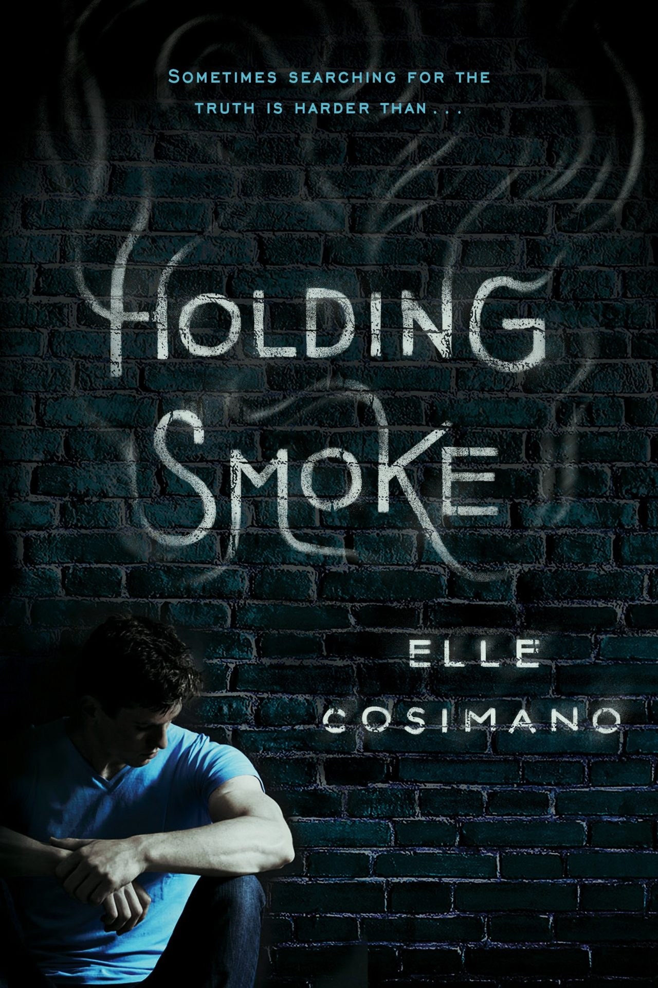 "Cover image of ""Holding Smoke,"" a young adult novel by Elle Cosimano"