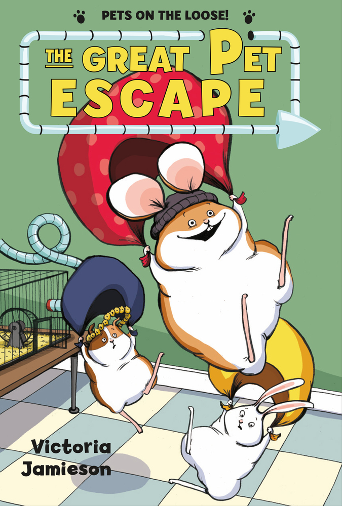 """Cover image of """"The Great Pet Escape,"""" a graphic novel by Victoria Jamieson"""