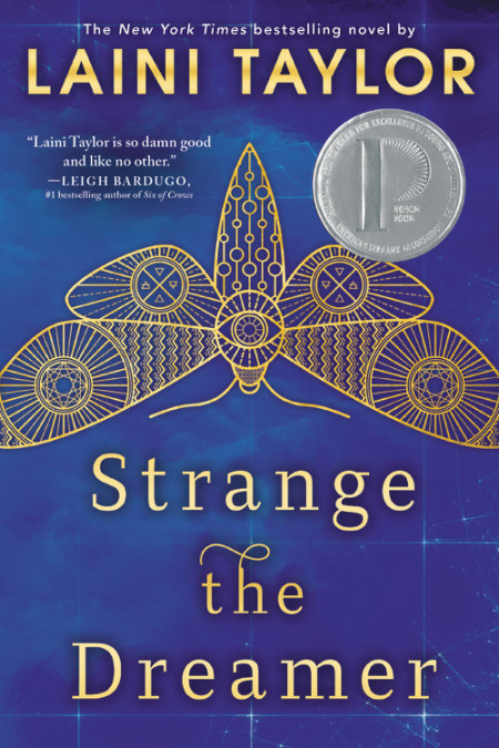 "Cover image of ""Strange the Dreamer,"" a young adult novel by Laini Taylor"