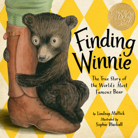 "Cover image of ""Finding Winnie,"" a picture book by Lindsay Mattick and Sophie Blackall"