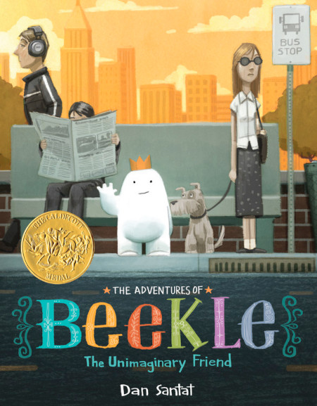 "Cover image of ""Beekle,"" a picture book by Dan Santat"