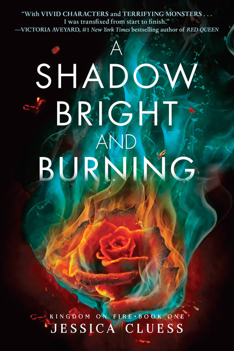 "Cover image of ""A Shadow Bright and Burning,"" a young adult novel by Jessica Cluess"