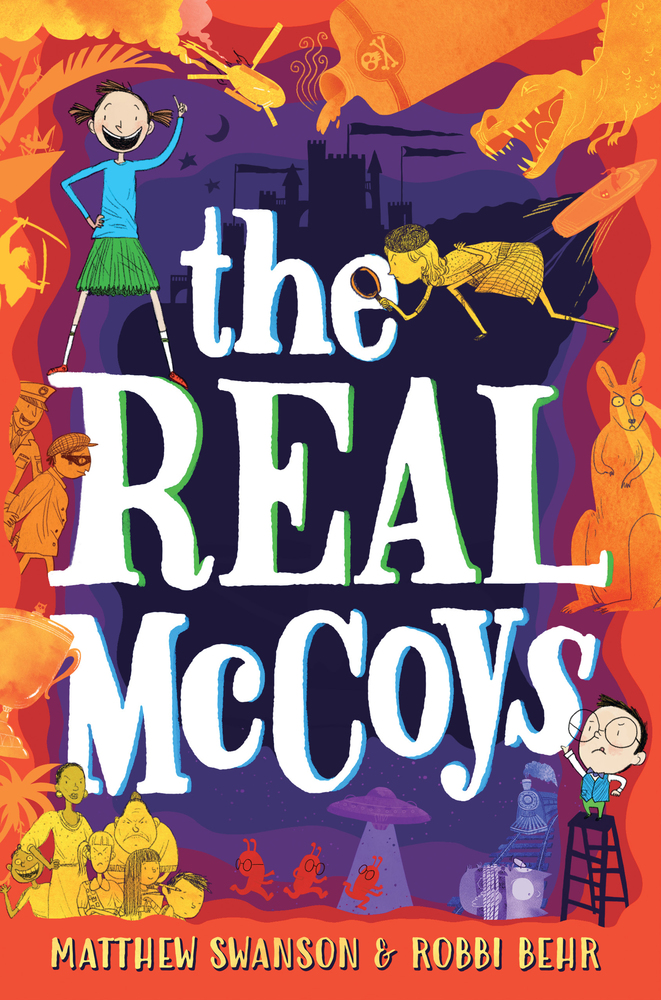 "Cover image of ""The Real McCoys,"" a middle grade novel by Matthew Swanson and Robbi Behr"