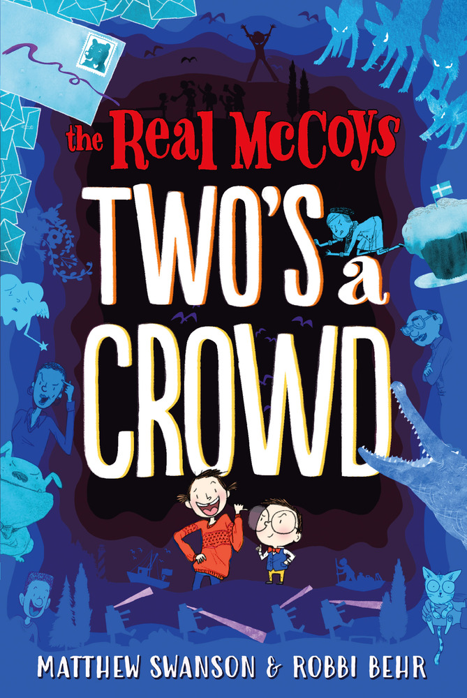 "Cover image of ""The Real McCoys: Two's a Crowd,"" a middle grade novel by Matthew Swanson and Robbi Behr"