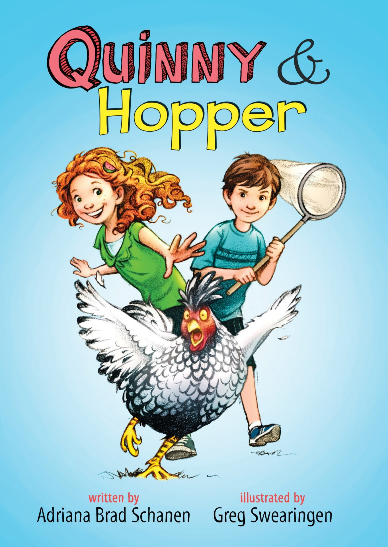 "Cover image of ""Quinny & Hopper,"" a chapter book by Adriana Brad Schanen"