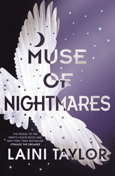 "Cover image of ""Muse of Nightmares,"" a young adult novel by Laini Taylor"
